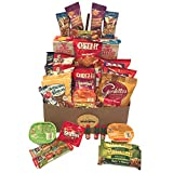 Care Package Variety Snack and Gift Box | 35 Assorted Snacks, Chips, Cookies, and Candy