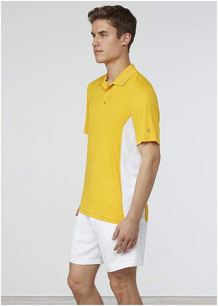 Fila Polo Core Comodidad Transpirable Camiseta de Tenis: Amazon.es: Ropa y accesorios