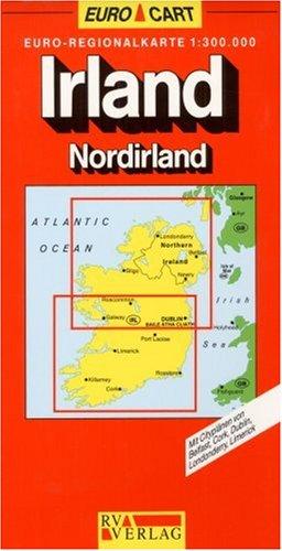 RV Euro-Regionalkarte 1:300 000 Irland/Nordirland