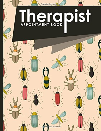 Download Therapist Appointment Book: 7 Columns Appointment Diary, Appointment Scheduler Book, Daily Appointments, Cute Insects & Bugs Cover (Volume 26) pdf