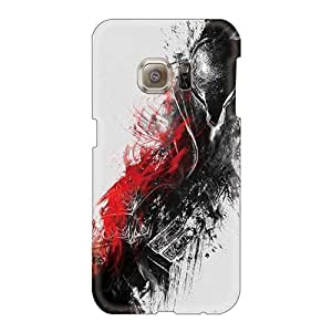 Customcases88 Samsung Galaxy S6 Anti-Scratch Hard Phone Covers Unique Design Realistic Dark Souls Skin [GsR2533cLaJ]