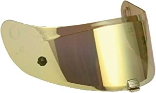 HJC HJ-20M Motorcycle Helmet Replacement Visor for IS-17 / FG-17 - Gold Iridium