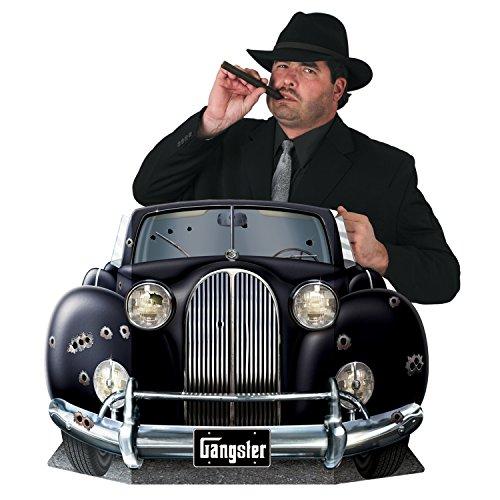Gangster Car Photo Prop Party Accessory (1 count) (1/Pkg) ()