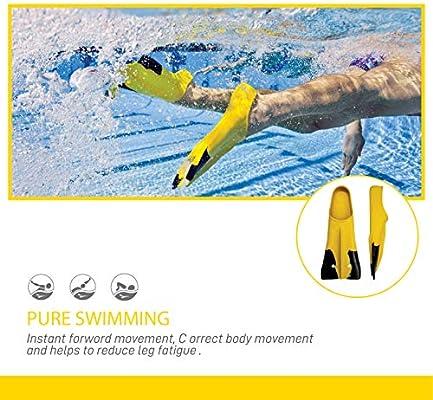 FINIS Adult Z2 - Aletas de natación, tamaño E, color amarillo: Amazon.es: Deportes y aire libre