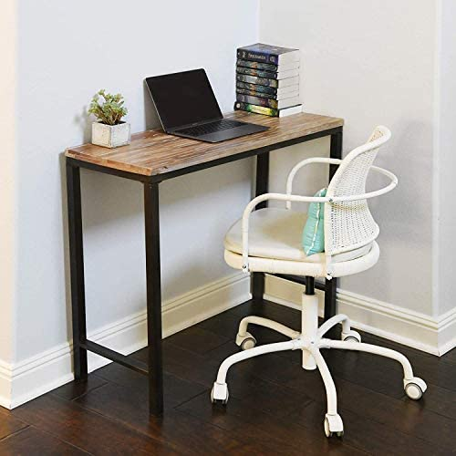 WELLAND Solid Wood Computer Desk