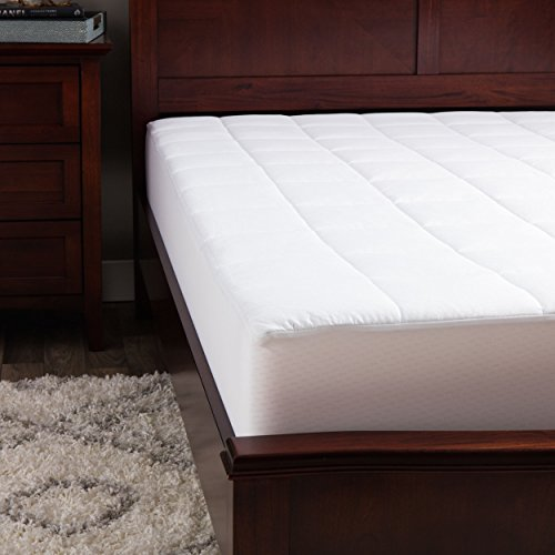 Outlast Temperature Regulating Mattress Pad, White, Queen