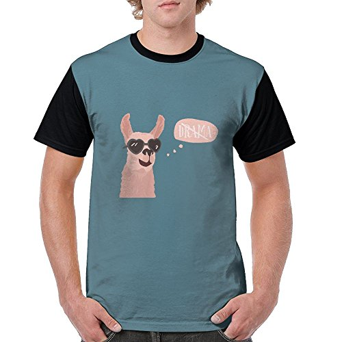 Moniery Llama With Sunglass Cool Hipster Cosy Premium Fit Shirt For - Made In England Sunglasses