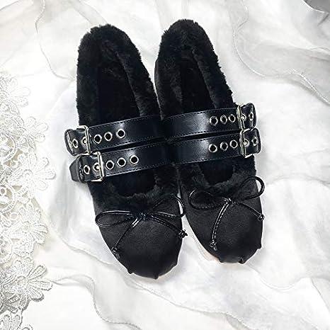 ff5016e7d ZHAOXIANGXIANG Nuevo Ballet Verano Cálido Frijoles Zapatos Retro De ...