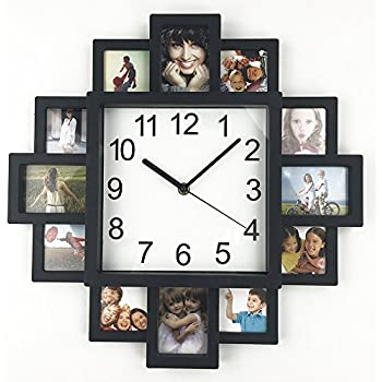 Amazon.com: DIY Frame Clock, TimeLike DIY Wall Clock Modern Design ...