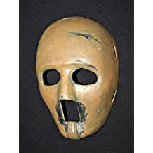 1:1 Custom Vintage Fiberglass Roller NHL Ice Hockey Goalie Mask Helmet Jacques Plante HO33