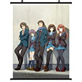 The Melancholy of Haruhi Suzumiya Anime Wall Scroll Poster (24''*32'')support Customized