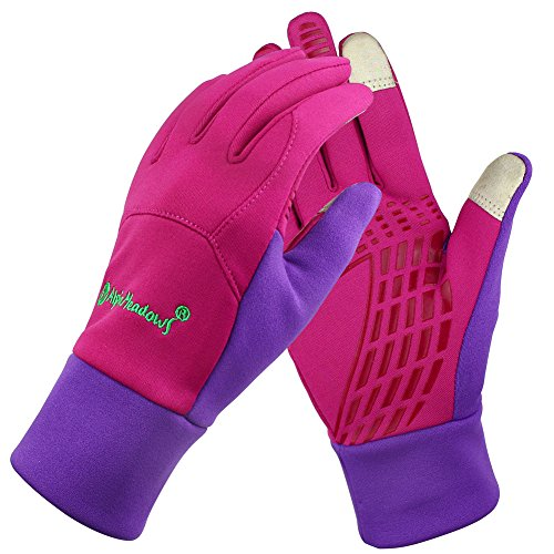 Unisex Fleece Windproof Winter Outdoor Cycling Gloves Touchscreen Gloves for SmartPhone