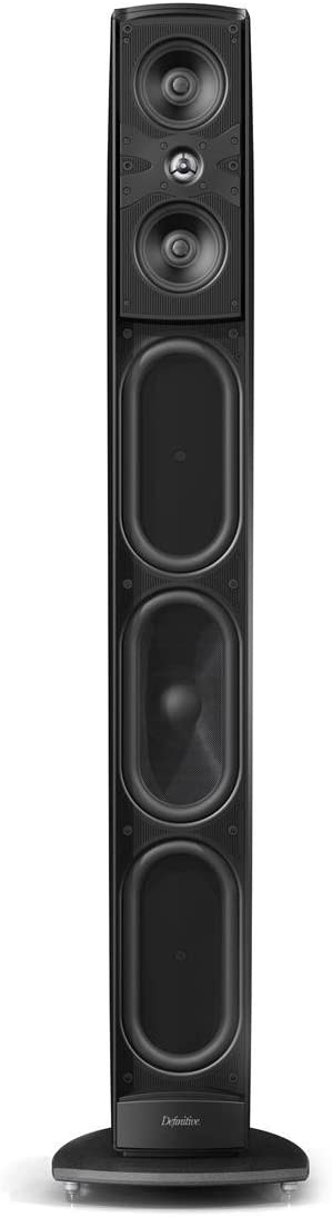 Definitive Technology Mythos STS 120v Supertower Speaker Single, Black