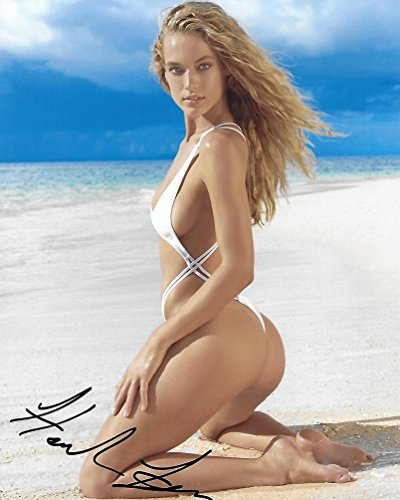 Hannah Ferguson, Model, Signed, Autographed, 8X10 Photo, a COA With The Proof Photo of Hannah Signing Will Be Included.