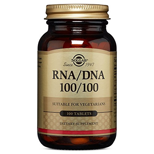 Solgar – RNA/DNA 100/100 mg, 100 (Dna Rna Supplements)