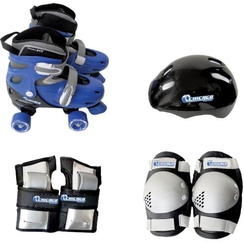 - Chicago Boys Quad Roller Skate Combo, Small