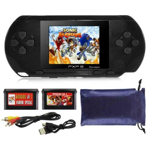 Ocamo Retro Game Console, AV Output PXP3 Portable Handheld Console Built-in Video Game Gaming Console Player Black by Ocamo (Image #8)