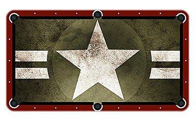 Amazoncom Green Star Billiard Cloth Pool Table Felt Sports - Star pool table