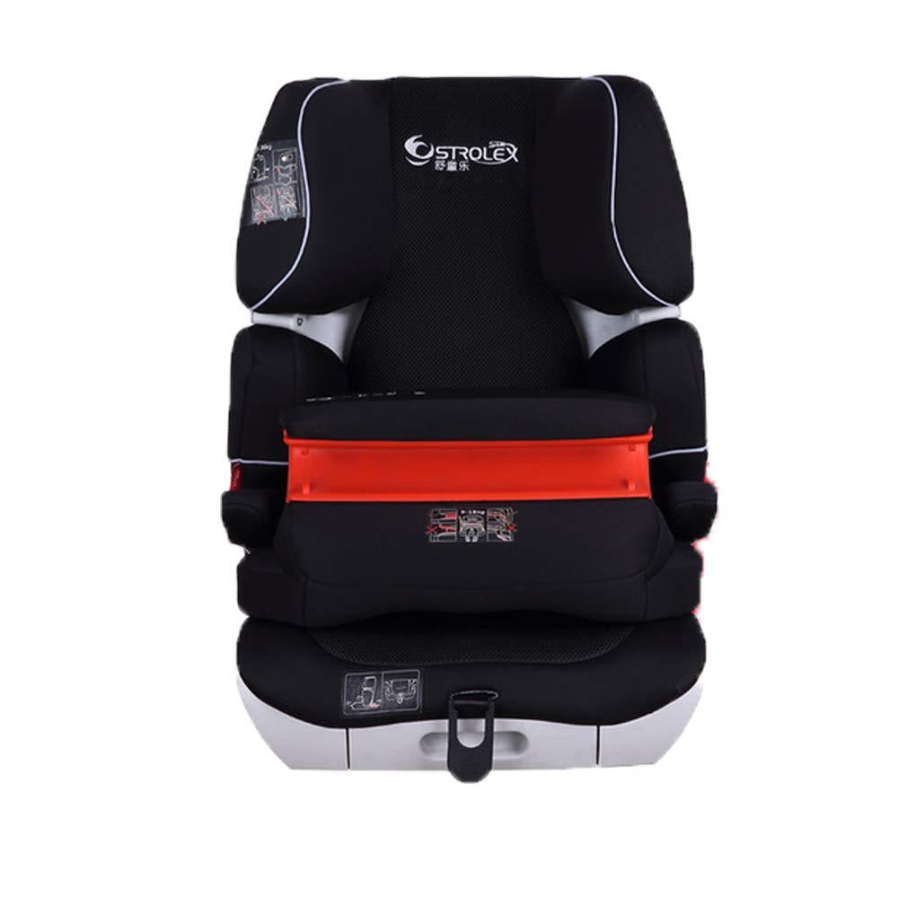 車のフロントシートとIsofixハードインターフェースベビーカーシートによる9M-12YのStrolex Four Seasonsユニバーサルニューチャイルドチャイルドシート   B07QJG78X9