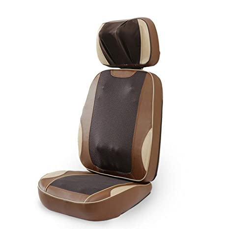 Cuscino Shiatsu Con Massaggio Termico.Txqueen Massaggiatore Per Collo E Schiena Shiatsu Pad