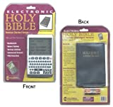 Electronic Holy Bible/Personal Digital Assistant