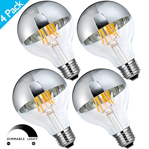 Half Chrome Light Bulb Led in Florida - 2