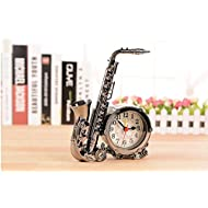 Fashion popular furnishing articles bedroom decor kids Gifts cartoon saxophone alarm clock