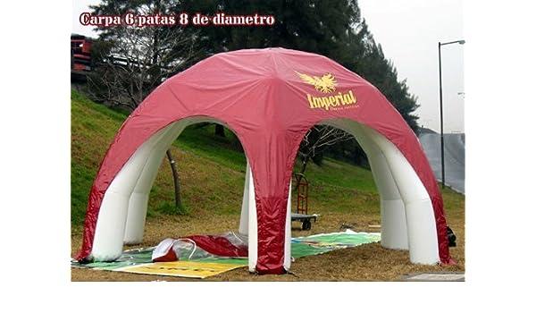 TUCUMAN AVENTURA - Carpas hinchables 6 Patas: Amazon.es ...
