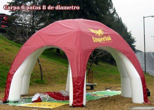 Tucuman Aventura - 6 Feet aufblasbare Zelte
