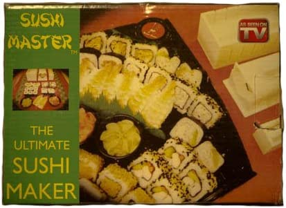 Sushi Master The Ultimate Sushi Maker Roll 10 Piece Set