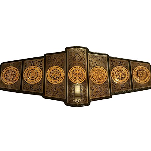 LUCHA UNDERGROUND GIFT OF GOD Championship Replica Belt Adult Size (Nwa Replica Belt)