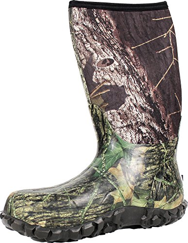 Bogs Men's Classic High Waterproof Insulated Rain Boot, Mossy Oak, 12 D(M) - Insulated Rubber Mens