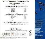 Shostakovich String Quartets 4 8 & 13. (Quatuor Debussy)