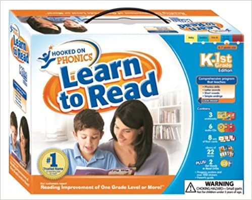 Hooked On Phonics Learn To Read K 1st Grade Hooked On Phonics