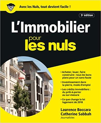 L'Immobilier pour les Nuls, 5e éd. (Français) Broché – 14 mars 2019