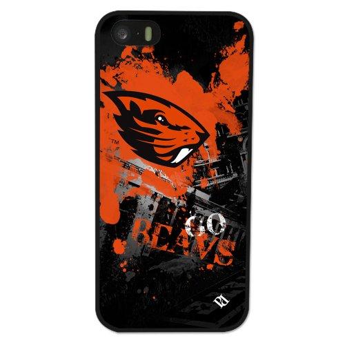 Guard Dog NCAA Oregon State Beavers Paulson Designs Spirit Case for iPhone 5/5s, Black, Medium