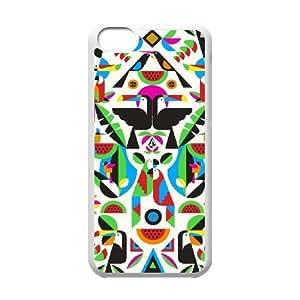 iPhone 5C Phone Case White volcom design BVGJ8792322