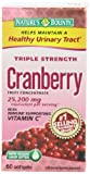 Nature's Bounty Triple Strength Cranberry with Vitamin C, 60 Softgels, Health Care Stuffs