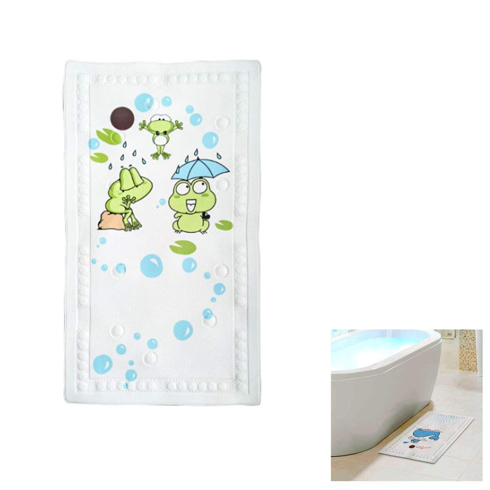 Eabr Baby Tub Mat, Non Slip Intelligent Temperature Mats Children & Shower Bathroom Safety Pattern, Also Suitable for Kitchen Living Room (B)
