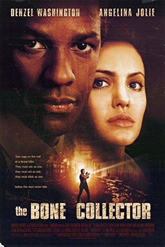 The Bone Collector Poster Movie B 11x17 Denzel Washington Angelina Jolie Queen Latifah Ed - Style Jolie Angelina