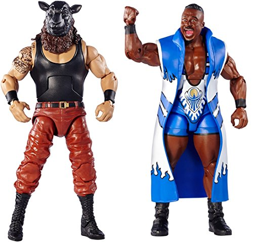 [Action Figures Elite Braun Stroman Figure Vs Elite Big E Figure] (Hawkeye Avengers Deluxe Adult Costumes)
