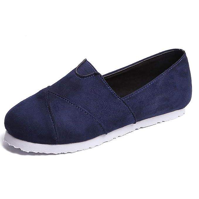 1794a494f4 Espadrilles Segelschuhe Lilicat Damen Sneaker Mode Eben Schuhe Faule Schuhe  Weich und atmungsaktiv Casual Erbsen Schuhe