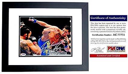 Anthony Pettis Signed UFC Toy Championship Belt PSA//DNA COA Autograph 164 181