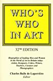 Who's Who in Art, , 0904722414