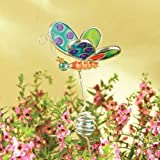 Butterfly Fused Glass Garden Stake #38046