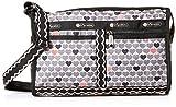 LeSportsac Classic Deluxe Shoulder Satchel Handbag, Stop for Love