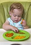 oogaa Silicone Baby and Toddler Divided Plate