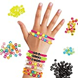 Fashion Angels Tell Your Story Neon Bead Case 12517 Bracelet Making Kit, Includes 500+ Beads,multi