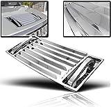 ZMAUTOPARTS Hummer H2 Hood Deck Vent Panel Handle Covers Trim ABS Chrome 5Pcs