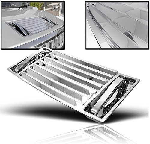 ZMAUTOPARTS Hummer H2 Hood Deck Vent Panel Handle Covers Trim ABS Chrome 5Pcs